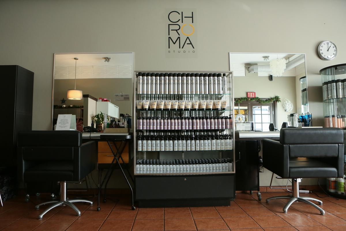 Storefront listing Boutique Hair Salon in the Heart of West Hollywood in Crescent, West Hollywood, United States.