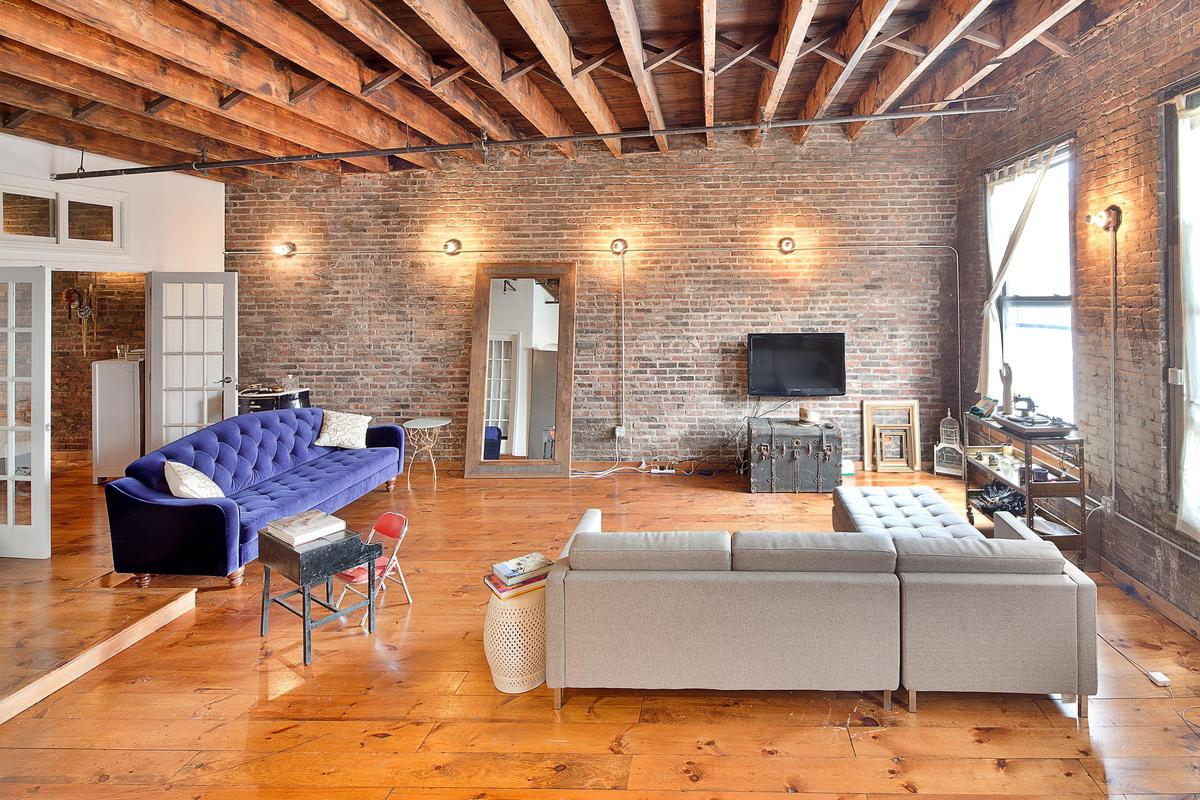 Storefront listing Quintessential NYC Penthouse Loft on Bowery in Chinatown, New York, United States.